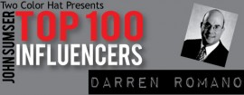 Top Influencers v1.30: Darren Romano