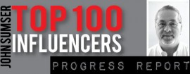 Top 100 Influencers Progress Report