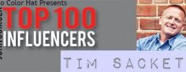 Top 100 Influencers v0.00 Tim Sackett