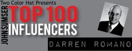 Top Influencers v1.30: Darren Romano